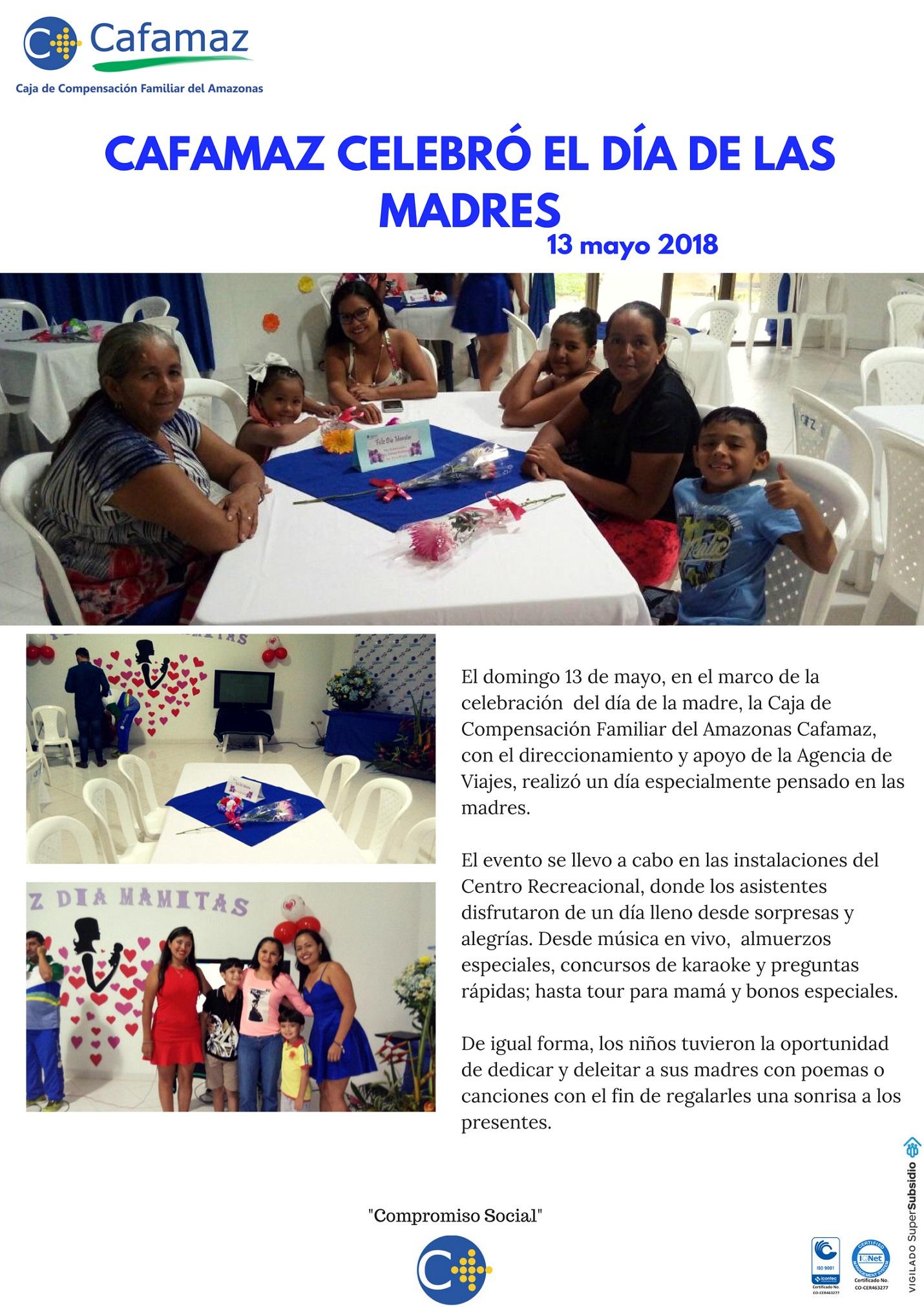 """Boletin de Resultados """"Gran Día de las Madres"""""""