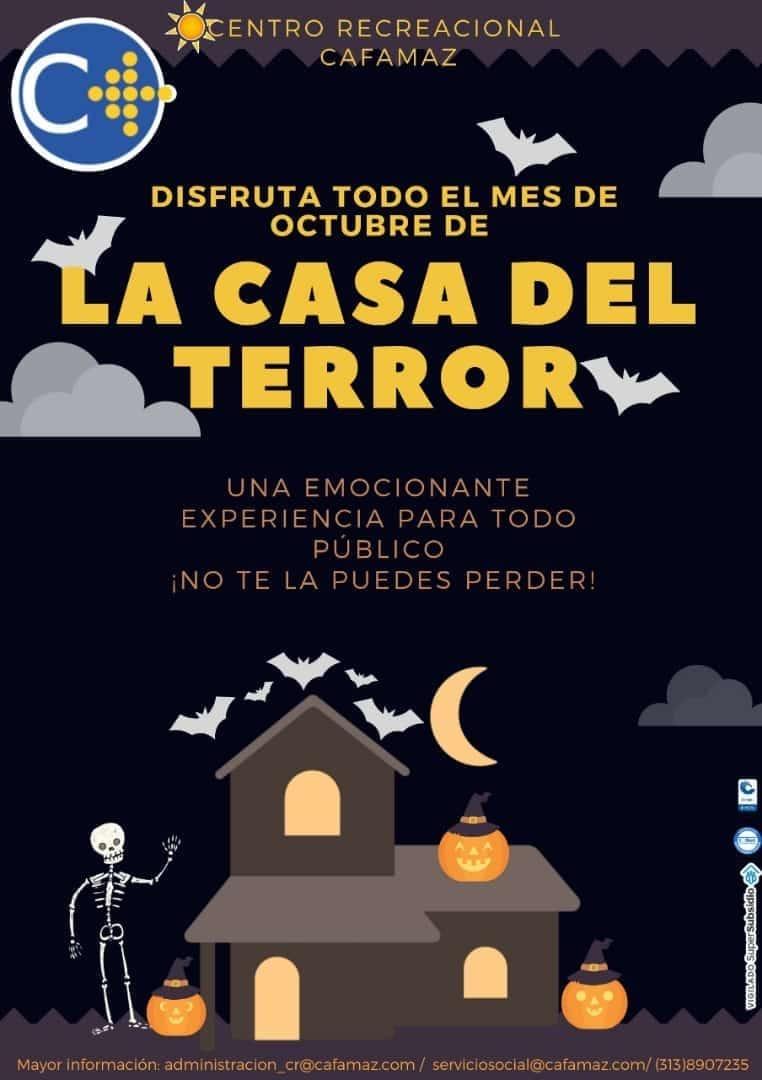 Disfruta todo el mes de octubre de la casa del terror