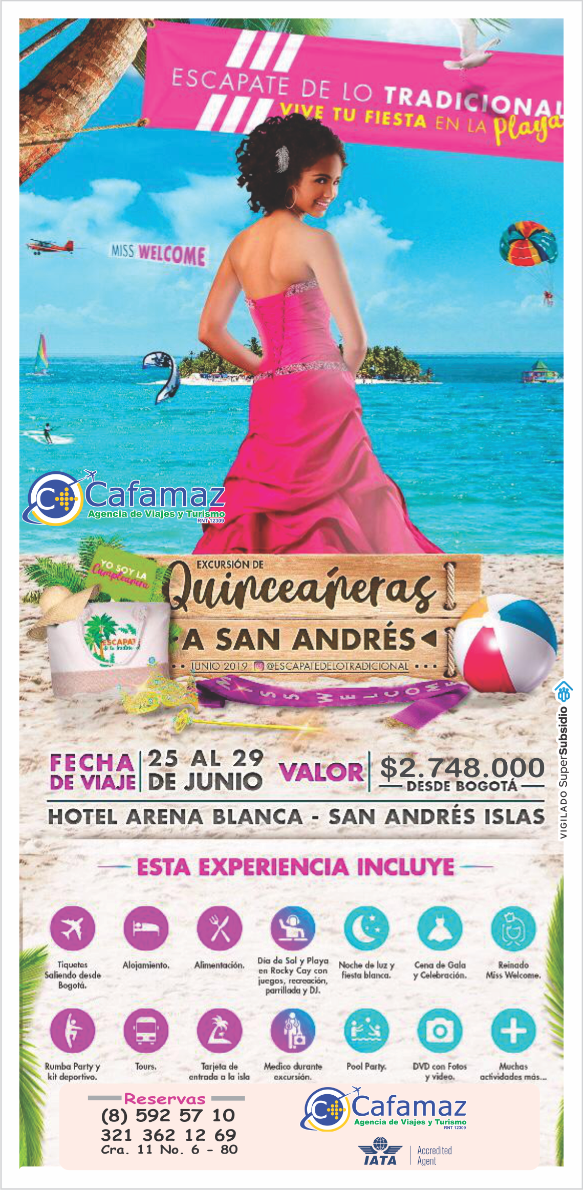 Quinceañeras a San Andrés