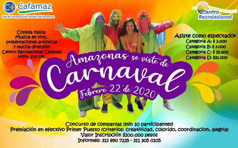 Amazonas se viste de Carnaval | Cafamaz, 2020