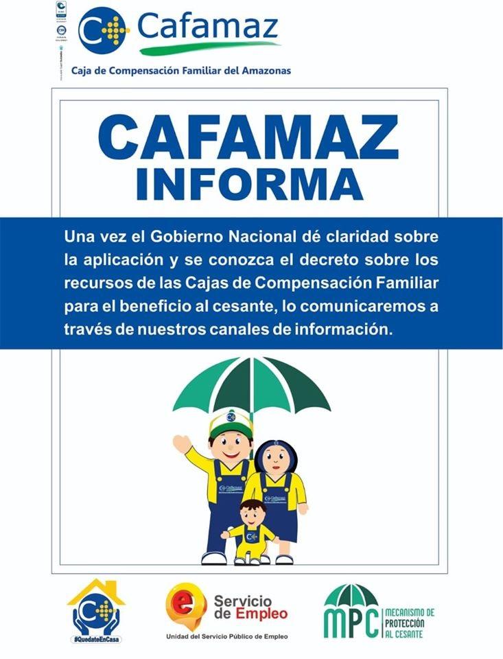 CAFAMAZ INFORMA | 2020