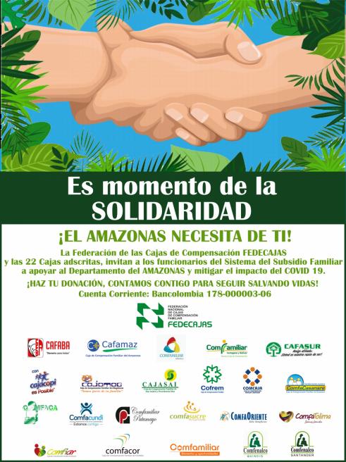 Donación: ¡El Amazonas necesita de ti! | Cafamaz, 2020