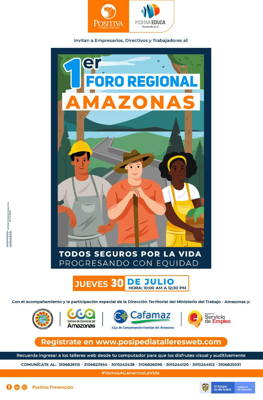 Primer Foro Regional Virtual del #Amazonas | Cafamaz, 2020