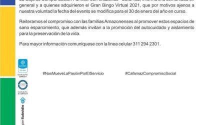 Boletín Informativo Edición 02 | Cafamaz, 2021