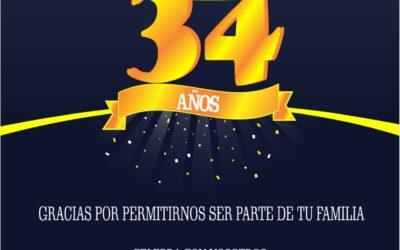 Celebración 34 Años de Cafamaz