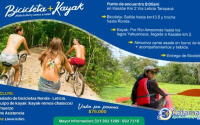 Bicicleta + Kayak