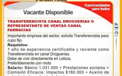 Boletín de Vacantes No. 06 | Agencia de Empleo, 2021