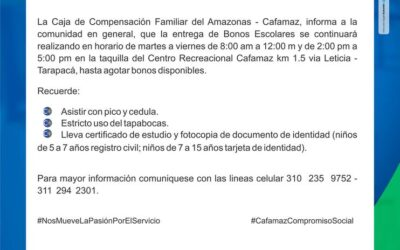 Boletín Informativo Edición 05 | Cafamaz, 2021