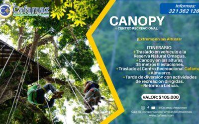 Canopy ¡Extremo en las alturas!