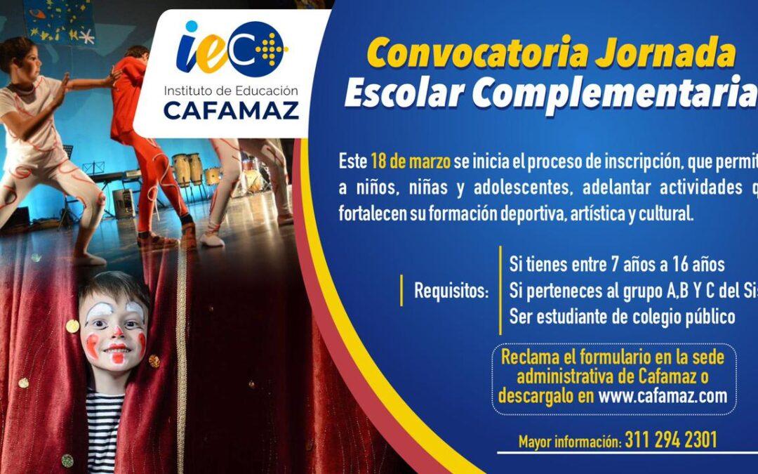 Convocatoria Jornada Escolar Complementaria JEC 2021