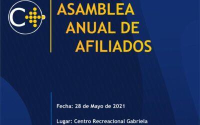 Convocatoria Asamblea General Ordinaria XXXIV