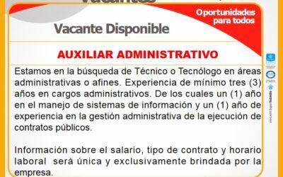 Boletín de Vacantes No. 21 | Agencia de Empleo, 2021
